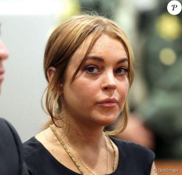 Lindsay Lohan au tribunal de Los Angeles le 30 janvier 2013. Le procès a été repoussé au 1er mars 2013.