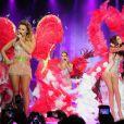 Les Girls Aloud en concert à Newcastle, le 21 février 2013.