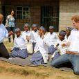 Le prince Harry au Lesotho pour Sentebale le 27 février 2013.