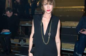 Fashion Week : Laura Smet sexy pour la féminité de Lanvin