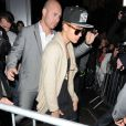 Justin Bieber va feter son anniversaire dans une discotheque a Londres le 28 fevrier 2013.  Singing Teen Sensation Justin Bieber celebrates his Birthday by going to the BLC club at 3.30am with his entourage. He leaves the club, and heads to a kebab place in Edgware Road.28/02/2013 - Londres