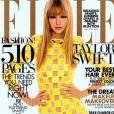 Taylor Swit en  cover girl  pour  Elle,  édition de mars 2013.