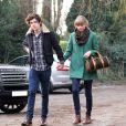 Exclusif - Taylor Swift et Harry Styles vontdéjeuner en amoureux pour les 23 ans de la chanteuse, à Cheshire, le 13 décembre 2012.