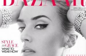 Kate Winslet : A 37 ans, elle apparaît plus sexy que jamais pour Harper's Bazaar