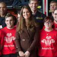 Kate Middleton, se rend au Fishing Heritage Centre à Grimsby le 5 mars 2013.