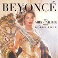 Affiche promo de la tournée de Beyoncé, Mrs Carter Show World Tour.