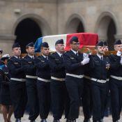 Obsèques de Stéphane Hessel : Carole Bouquet et François Hollande très émus