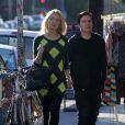 Holly Madison, enceinte et son compagnon Pasquale Rotella à Los Angeles en octobre 2012