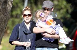 Amy Adams avec son adorable fille Aviana : Direction le magasin de jouets !