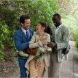 Romain Duris, Audrey Tautou et Omar Sy dans L'Ecume des Jours.
