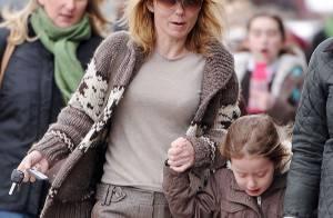 Geri Halliwell : Look discret pour aller chercher sa fille Bluebell à l'école