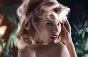 Eva Herzigova : Enceinte et nue, le top model se dévoile avec sensualité