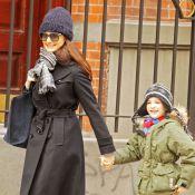 Rachel Weisz : Même pressée, la maman du petit Henry est ravissante !