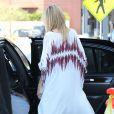Heidi Klum quitte la boutique Lady Foot Locker à Culver City après y avoir lancé sa collection pour New Balance. Le 14 mars 2013.