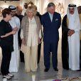 Le prince Charles et Camilla Parker Bowles en visite à Doha au Qatar, le 14 mars 2013.