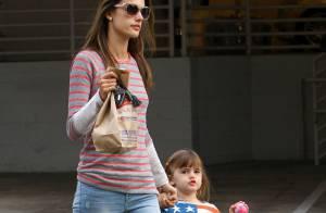 Alessandra Ambrosio : Sa fille de 4 ans suit déjà les tendances !