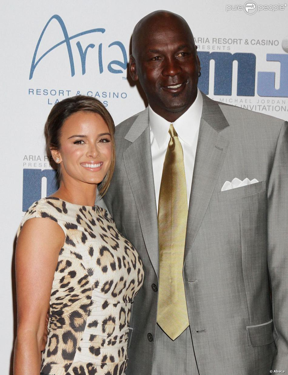 Michael Jordan et Yvette Prieto lors de l'annuel Michael Jordan Celebrity Invitational Gala de Las Vegas le 31 mars 2012