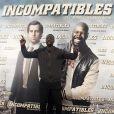 Omar Sy assure la promo du film De l'autre côté du périph (intitulé Incompatibles) à Madrid, le 14 mars 2013.