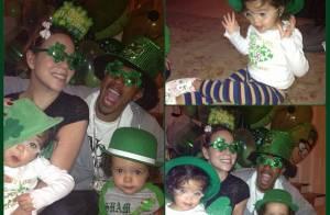 Mariah Carey : Ses jumeaux Monroe et Moroccan en vert pour la Saint-Patrick