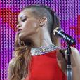 Rihanna lors de son concert au Bell Centre à Montréal. Le 17 mars 2013.