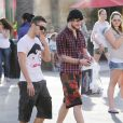 Le groupe The Wanted, à Universal Studios, à Los Angeles, le 14 mars 2013.