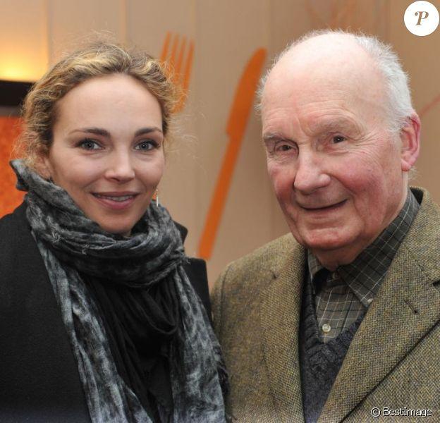 Claire Keim, Michel Bouquet au Festival 2 Cinema à Valenciennes, le 20 mars 2013.