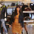 Kim Kardashian fait du shopping à New York, le 26 mars 2013.
