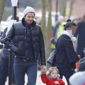 David Beckham : Balade en duo avec Harper, une sortie lookée