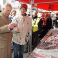 Le prince Charles en visite en Cumbrie le 28 mars 2013.