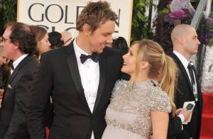 Kristen Bell maman d'une petite fille avec son fiancé Dax Shepard