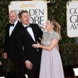 Dax Shepard et Kristen Bell le 13 janvier 2013 lors des Golden Globes. Le couple a eu son premier enfant fin mars 2013, une petite Lincoln.