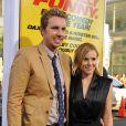 Dax Shepard et Kristen Bellà la première de Hit and Run en août 2012.