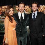 Ryan Gosling : En amoureux avec Eva Mendes au côté du beau gosse Bradley Cooper