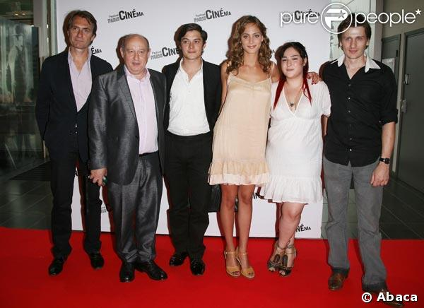 Michel Jonasz, Aurélien Wiik, Nora Arnezeder, Marilou Berry et Stanislas Merhar