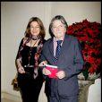 Jean-Pierre Mocky et sa femme Patricia Barzyk à Paris le 1er décembre 2012