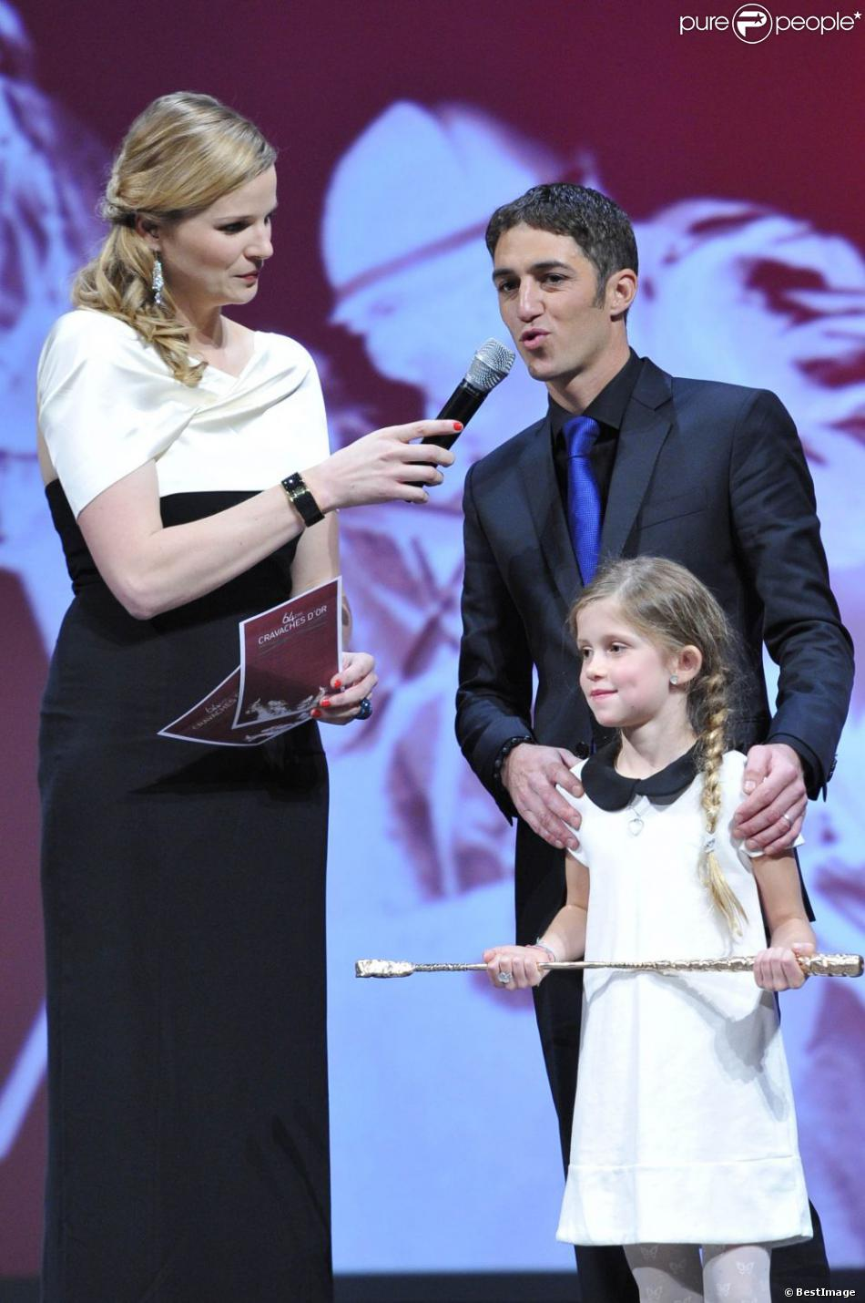 christophe soumillon avec sa fille charlie lors de la 64e. Black Bedroom Furniture Sets. Home Design Ideas