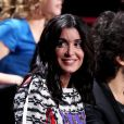 Jenifer lors de l'enregistrement du prime 'Samedi soir on chante Goldman', diffusé le 19 janvier 2013 sur TF1