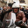 Gérard Depardieu à Paris, le 7 novembre 2012.