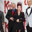Harvey Fierstein et Cyndi Lauper à la première du spectacle Kinky Boots à Broadway (New York) le 4 avril 2013.