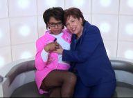 Roselyne Bachelot touche le sein d'Audrey Pulvar, très coquine