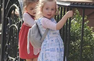 Sarah Jessica Parker : Ses filles Marion et Tabitha surexcitées dans la rue