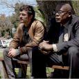 Une image officielle du film Zulu, avec Orlando Bloom et Forest Whitaker, film de clôture du Festival de Cannes 2013.