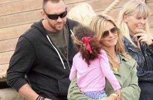 Heidi Klum amoureuse : Orages, plage et fous rires avec les enfants
