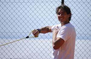 Jo-Wilfried Tsonga, Rafael Nadal : Sourires et soleil pour leurs débuts à Monaco