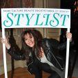 Doria Tillier (Miss Météo de Canal) à la soirée de lancement du magazine  Stylist  à la Gaîté Lyrique à Paris, le 18 avril 2013.