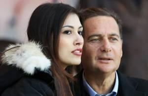 PSG-Nice : Eric Besson et sa femme Yasmine amoureux comme au premier jour