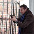 Liam Neeson sur le tournage de A Walk Among the Tombstones, l'un des ses futurs projets, à New York, le 8 avril 2013.