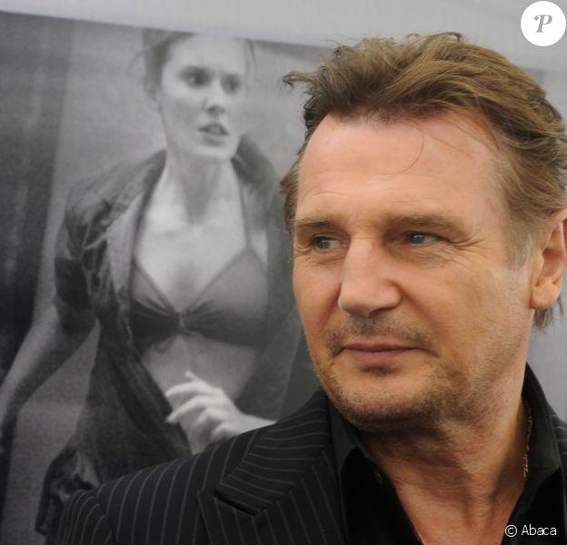 Liam Neeson lors de la première russe de Taken 2 le 14 septembre 2012.