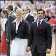 Anniversaire de Victoria de Suède : le prince Carl Phillip et la princesse Madeleine