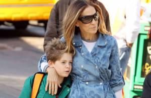 Sarah Jessica Parker : Une maman consciencieuse avec ses jumelles et son fils